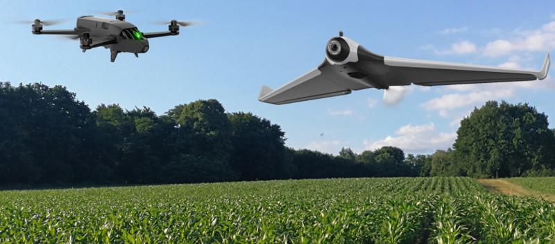 Déploiement de drones pour l'agriculture en Afrique subsaharienne (credit: CTA)