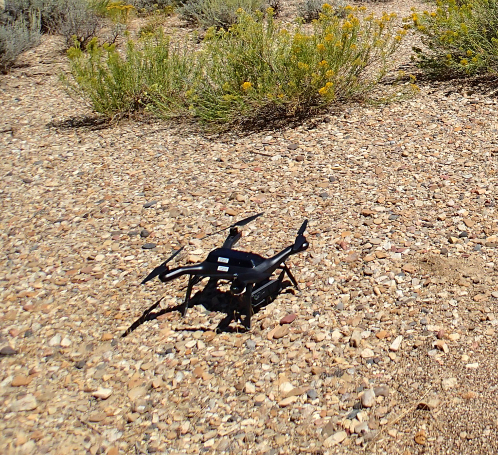 Multiple UAV Systems for Agricultural Applications: Control