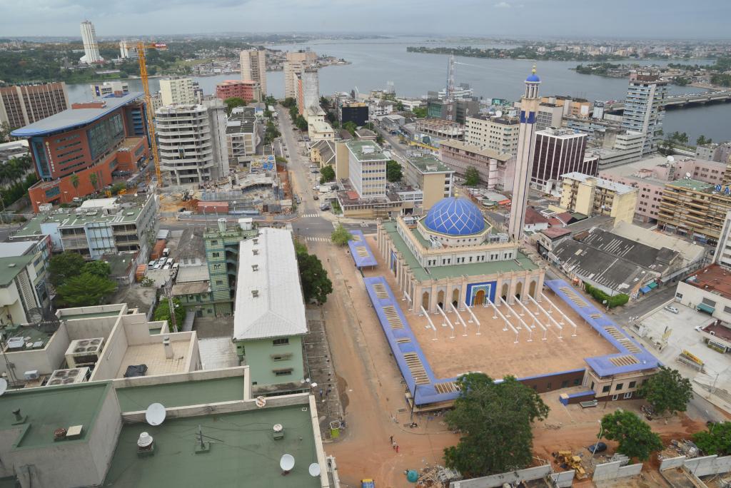 Quartier Le Plateau d'Abdijan, Côte d'Ivoire (crédits: Citizen59 / Flickr Creative Commons Attribution-ShareAlike 2.0 Generic (CC BY-SA 2.0))