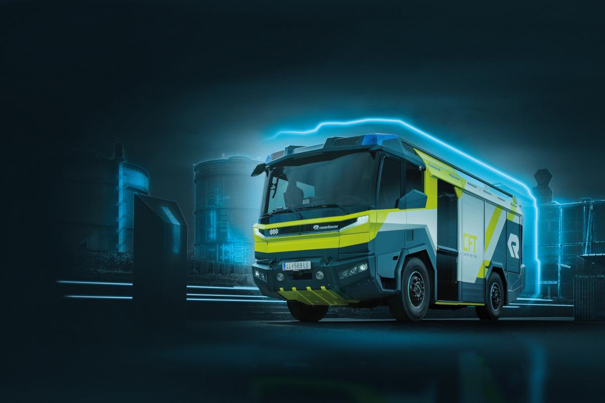 Rosenbauer présente de nouvelles technologies qui façonneront l'avenir de la lutte contre les incendies et le rendront plus facile. Un exemple est l'étude conceptuelle d'un camion de pompiers autonome du futur, Concept Fire Truck (CFT), qui sera présentée. Les ingénieurs de développement se sont concentrés sur la manière dont l'architecture du véhicule est déterminée par les exigences futures des services d'incendie. (Crédits: Rosenbauer / Ars Electronica / Flickr Creative Commons Attribution-NonCommercial-NoDerivs 2.0 Generic (CC BY-NC-ND 2.0))