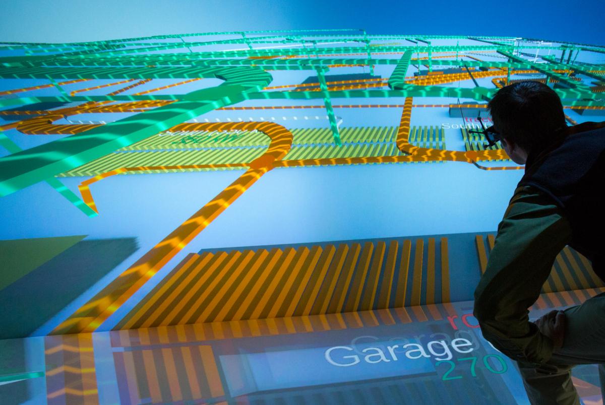 Transformer des données énergétiques en l'action - ESIF 3D Collaboration Room (crédits: Werner Slocum / NREL / Flickr Creative Commons Attribution-NonCommercial-NoDerivs 2.0 Generic (CC BY-NC-ND 2.0))