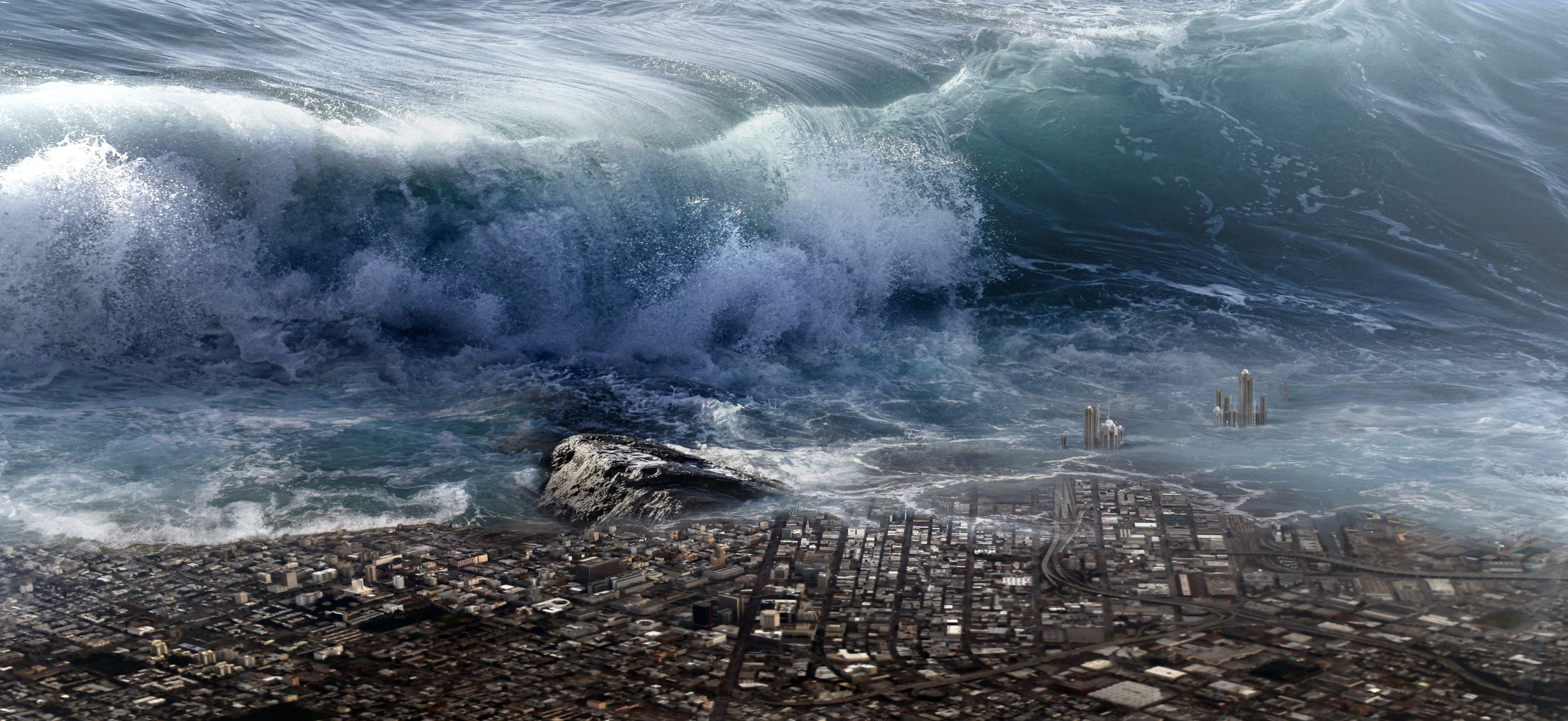 Tsunami (Image by Stefan Keller from Pixabay)