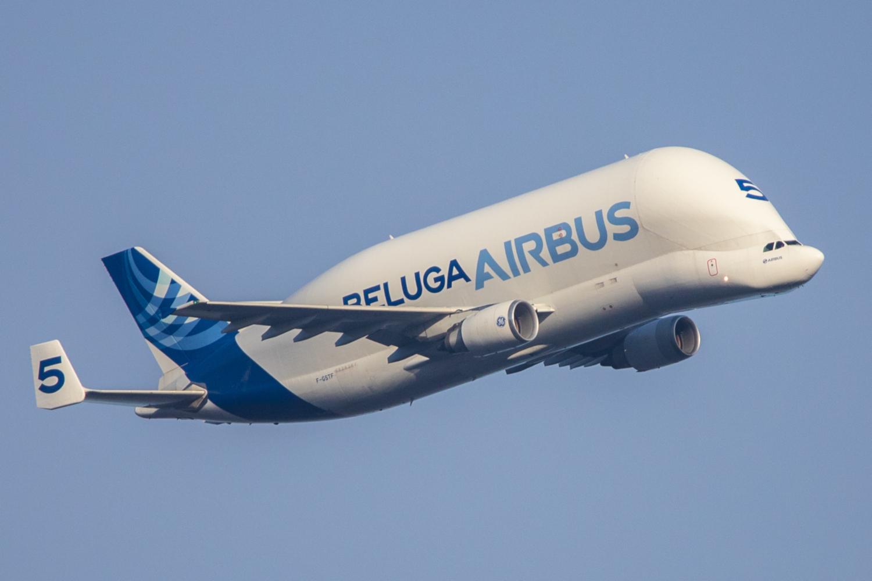 Airbus A300-608ST Beluga A3ST F-GSTF (crédits: Kevin Hackert / Flickr Creative Commons Attribution - Pas d'Utilisation Commerciale 2.0 Générique (CC BY-NC 2.0))