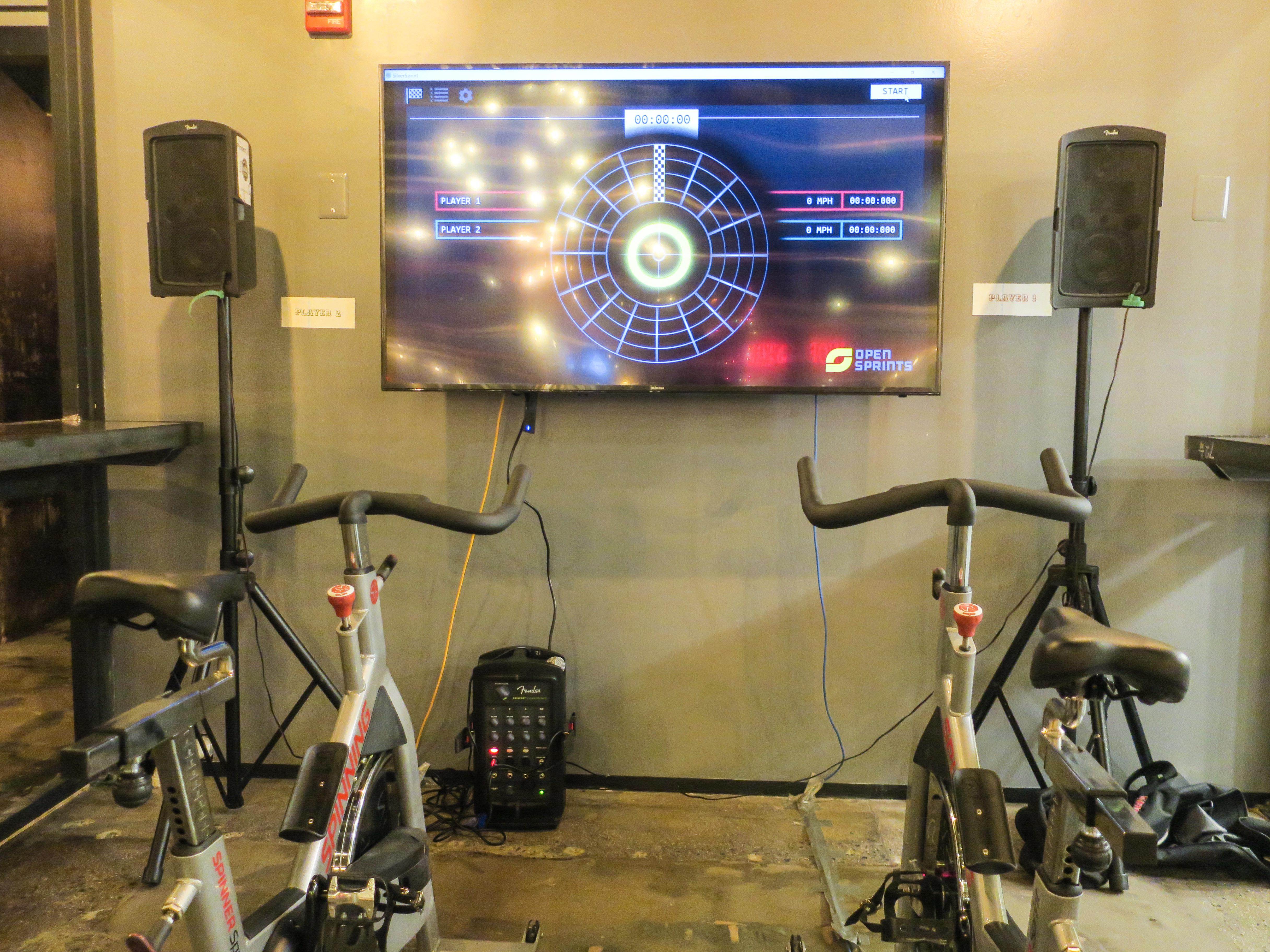 Le cyclisme virtuel (crédits: Joe Flood / Flickr Creative Commons Attribution - Pas d'Utilisation Commerciale - Pas de Modification 2.0 Générique (CC BY-NC-ND 2.0))