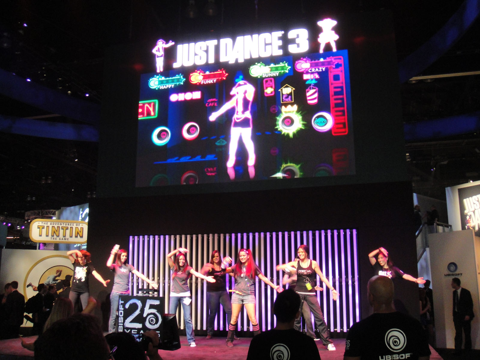 Just Dance 3 (Ubisoft) (crédits: Doug Kline / The Pop Culture Geek Network / Flickr Creative Commons Attribution - Pas d'Utilisation Commerciale 2.0 Générique (CC BY-NC 2.0))