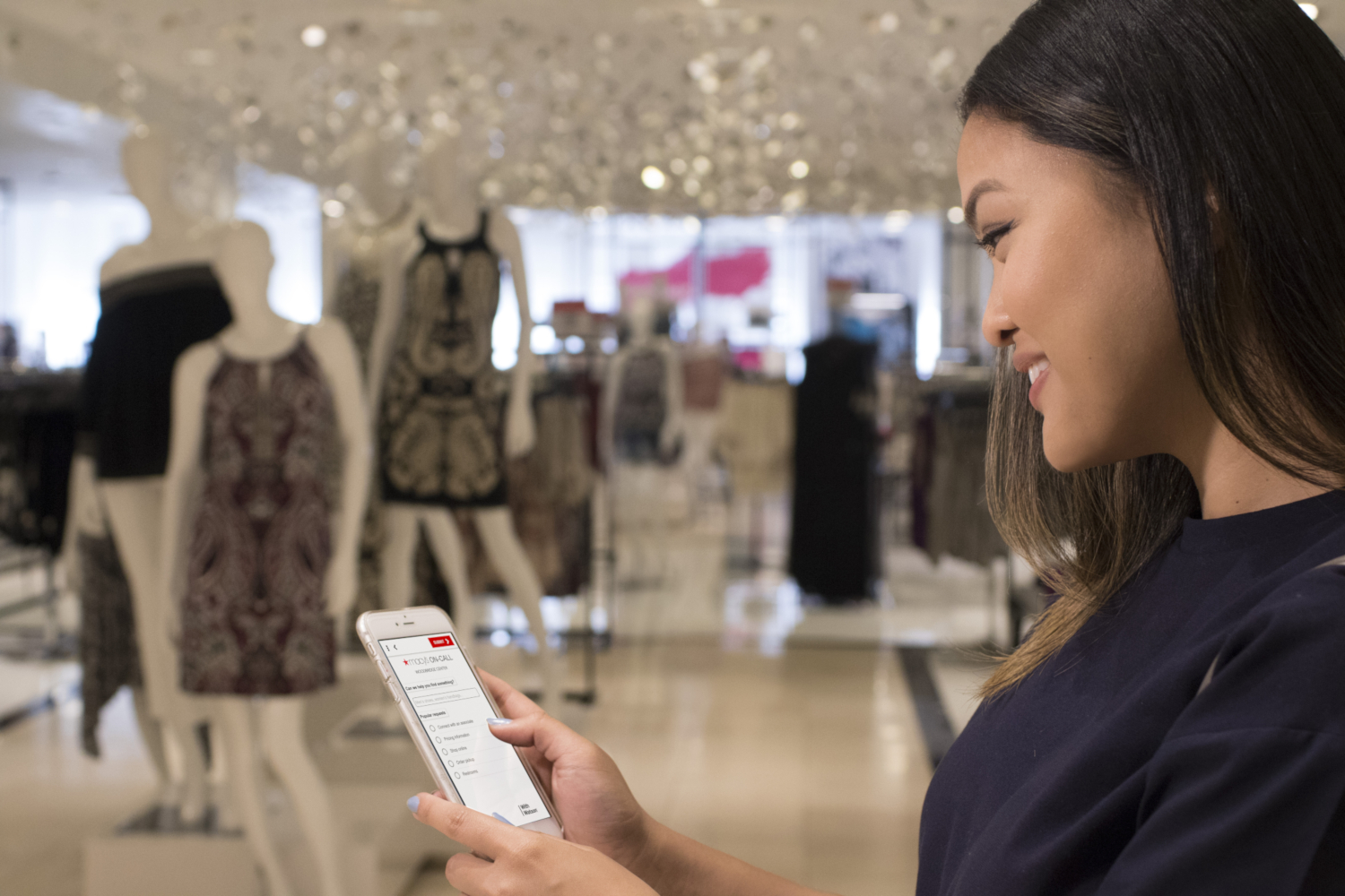 Macy's On Call, a mobile shopping companion powered by IBM Watson and Satisfi (credits: IBM / Flickr Creative Commons Attribution-NonCommercial-NoDerivs 2.0 Generic (CC BY-NC-ND 2.0))
