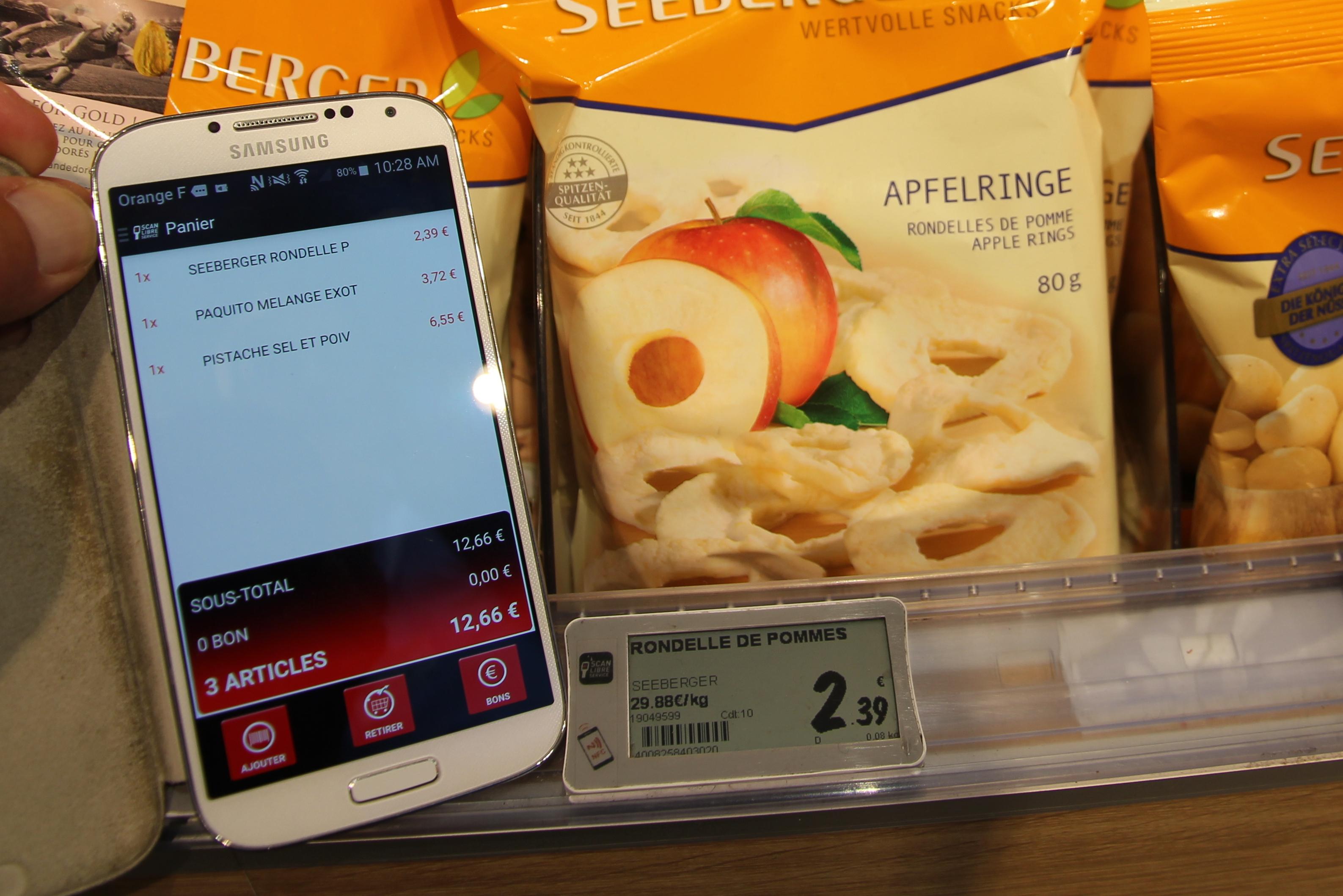 2015 SES Store Tours - Application E-commerce sur smartphone (crédits: Pierre Metivier / Flickr Creative Commons Attribution - Pas d'Utilisation Commerciale 2.0 Générique (CC BY-NC 2.0))