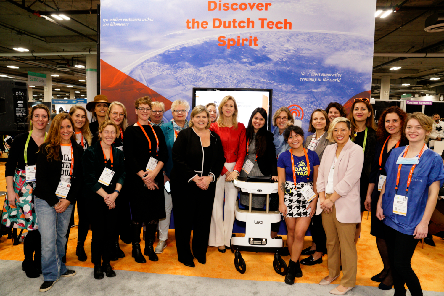 Les Entrepreneures des Startups des Pays-bas au CES 2019 (crédits: (c) Heidi Alletzhauser & Consulate General of the Kingdom of the Netherlands in San Francisco / Netherlands Embassy / Flickr Creative Commons Attribution 2.0 Générique (CC BY 2.0))
