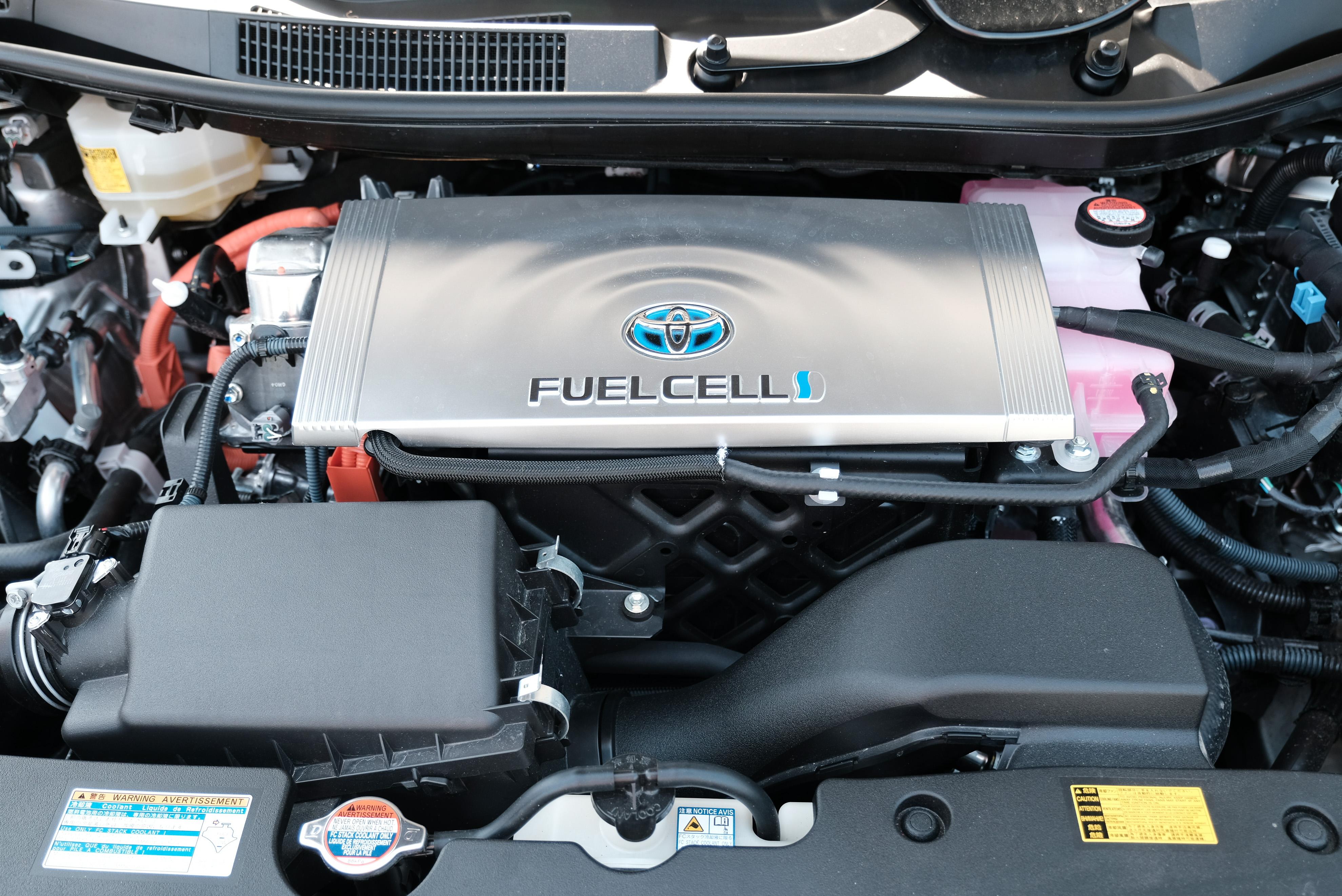 Véhicule électrique à pile à combustible à hydrogène (crédits: Province of British Columbia / Flickr Creative Commons Attribution - Pas d'Utilisation Commerciale - Pas de Modification 2.0 Générique (CC BY-NC-ND 2.0))