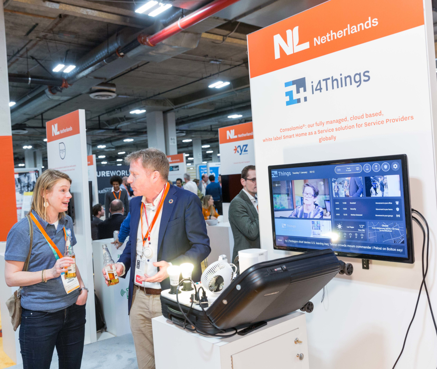 i4Things https://www.i4things.eu/ startup at CES 2020 (Public domain)