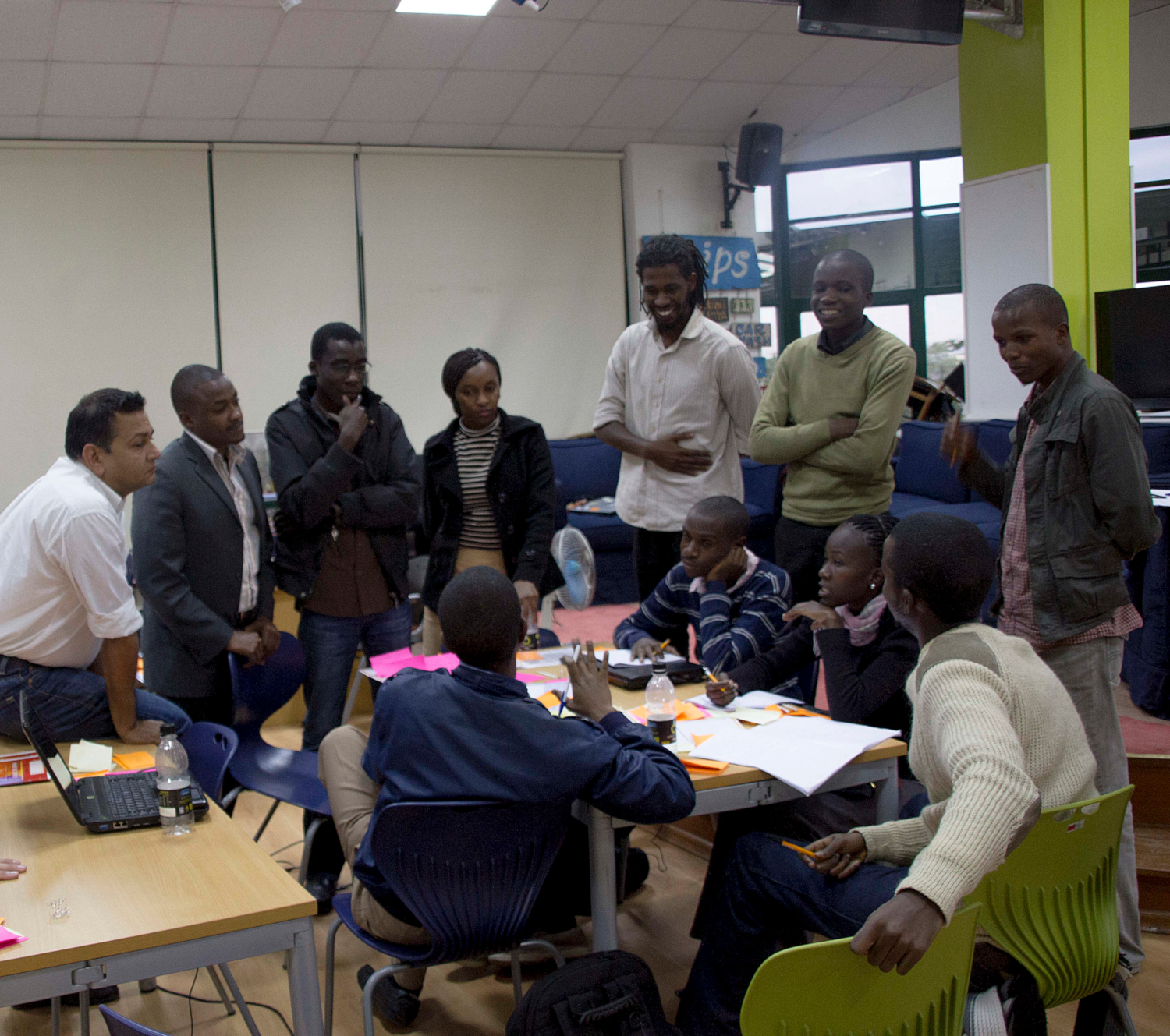 Intel Youth Enterprise seminar at The iHub (credits: The iHub / Flickr Creative Commons Attribution-NonCommercial 2.0 Generic (CC BY-NC 2.0))