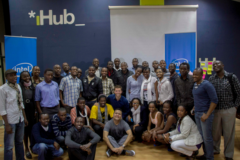Seminaire Intel Youth Enterprise au iHub Kenya (crédits: The iHub / Flickr Creative Commons Attribution - Pas d'Utilisation Commerciale 2.0 Générique (CC BY-NC 2.0))