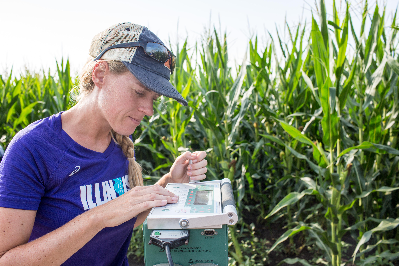 Technologie agricole pour la surveillance des cultures (crédits: Steve Long / Flickr Creative Commons Attribution 2.0 Générique (CC BY 2.0))