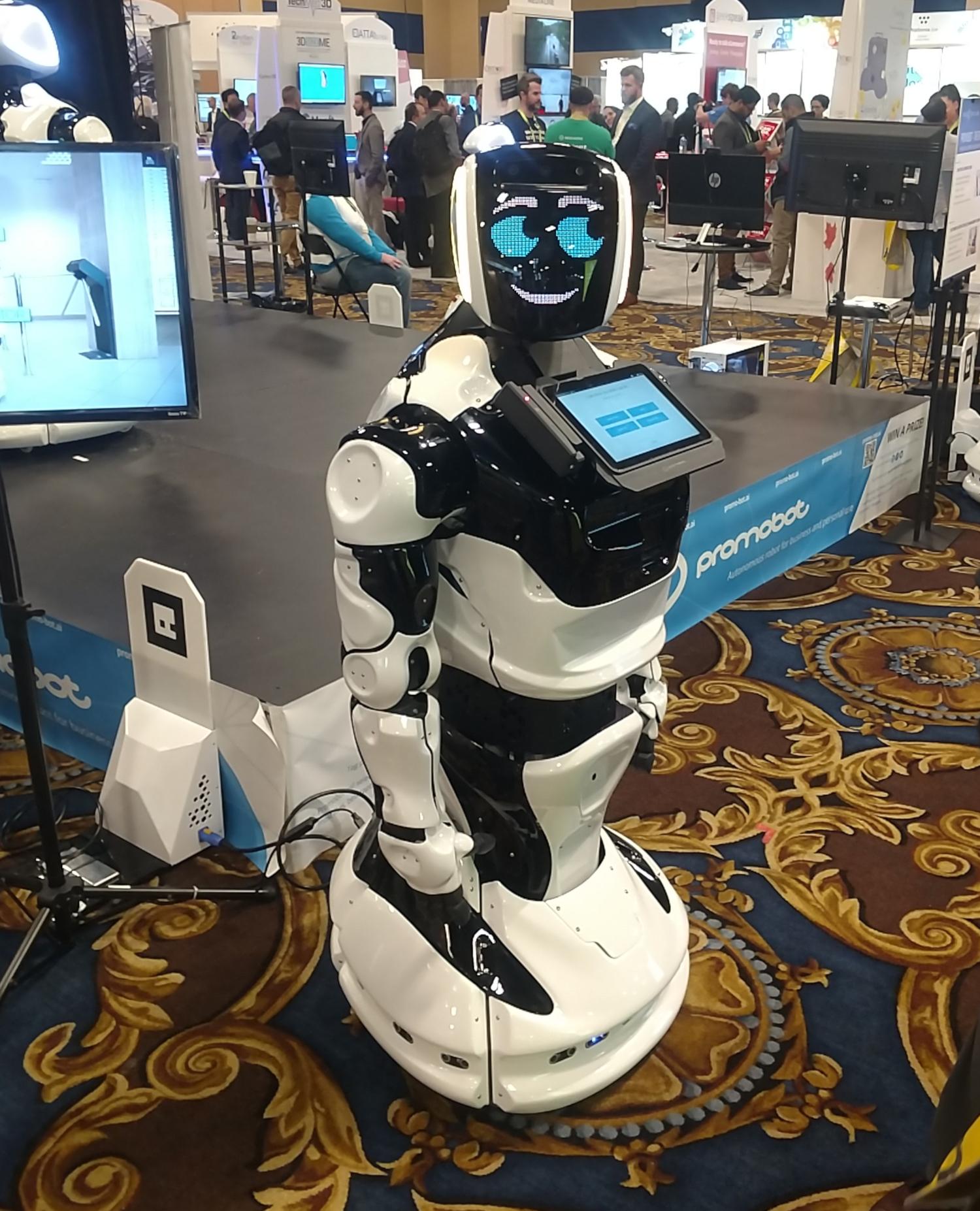 Un robot humanoïde présenté au CES 2019 (crédits: Michael Sauers / Flickr Creative Commons Attribution - Pas d'Utilisation Commerciale 2.0 Générique (CC BY-NC 2.0))