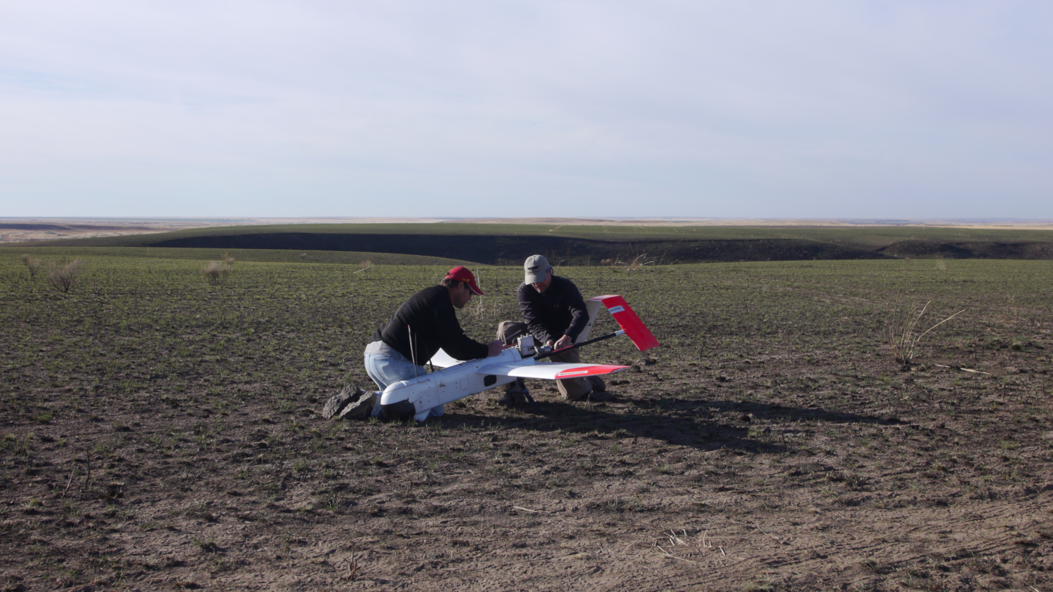 The drones used in this operation were able to cover hundreds of mapped polygons a day and the imagery produced will help make the BLM Spokane District make more accurate classifications of the sag-grouse habitat. (credits: Bureau of Land Management Oregon and Washington / Flickr Creative Commons Attribution 2.0 Generic (CC BY 2.0))