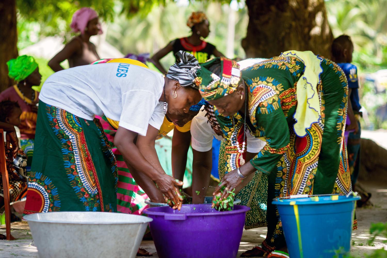 Grâce à une subvention du Fonds des Nations Unies pour l'égalité des sexes, PREM a aidé des femmes rurales à former plusieurs coopératives et a enseigné à ses membres comment planter un arbre riche en vitamines appelé Moringa et comment nettoyer, sécher et vendre ses feuilles. Utilisé comme médicament ou complément alimentaire par des sociétés du monde entier, le Moringa soutient également la biodiversité et empêche l'érosion des sols. (crédits: UN Women / Joe Saade / Flickr Creative Commons Attribution - Pas d'Utilisation Commerciale - Pas de Modification 2.0 Générique (CC BY-NC-ND 2.0))